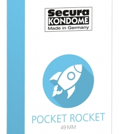 Secura Pocket Rocket - 49 mm kondómy (24 ks)