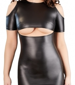 Mini Dress with Cut-outs