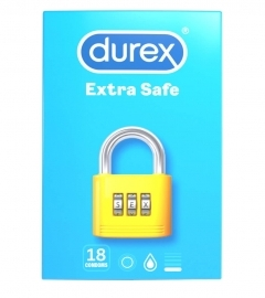 Durex Extra Safe - Safe condoms (18 pieces)