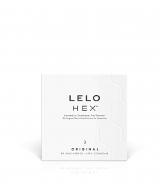 LELO Hex Original - kondómy (3ks)