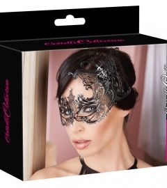 Cottelli - preformed rhinestone mask (black)