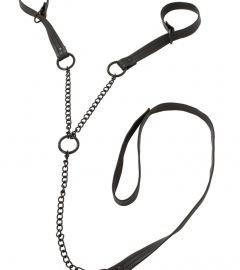 Bad Kitty - Hinges with Leash (Black)