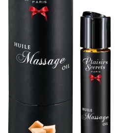 Massage Oil with a Caramel Scent