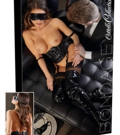 Waist Cincher with Arm Loops and a Blindfold