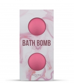 DONA - BATH BOMB FLIRTY BLUSHING BERRY BATH 140 GRAM