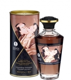 Shunga - Aphrodisiac Warming Oil Chocolate 100 ml