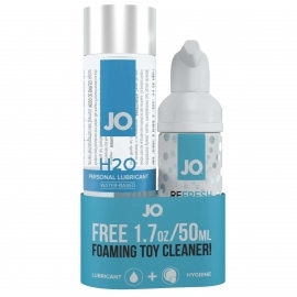 SYSTEM JO - H2O LUBRICANT 120 ML & FREE TOY CLEANER ...