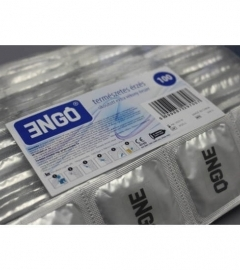 ENGO - Extra thin condom with lubricant (100pc)