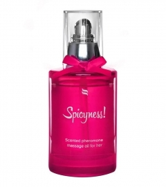 OBSESSIVE - SCENTED PHEROMONE MASSAGE OIL FOR HER SPICY 100 ML