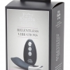 Fifty Shades of Gray Ruthless Panties - Cordless Wireless Clitoral Vibrators (Black-Silver)