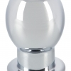 Lust Tunnel - Aluminum Hollow Anal Dildo (Silver)