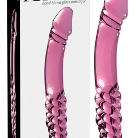 Icicles No. 57 - penis double-ended glass dildo ...