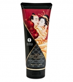 Shunga - Massage Cream Strawberry 200 ml