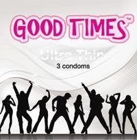 Good Times Ultra thin - ultra tenké kondómy (3 ks)